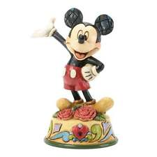 Disney Traditions January Mickey Mouse Figurine New Boxed 4033958