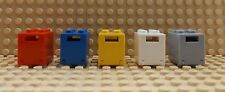 5 LEGO Different Colours Containers Letter Safety Box Boxes  4345/4346