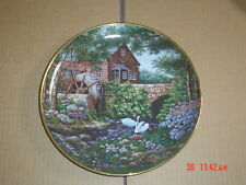 Franklin Mint Collectors Plate OLDE MILL COTTAGE