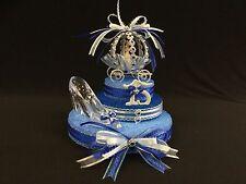 Cinderella Carriage Cake Topper, Centerpiece, Quinceanera, Sweet 16, Birthdays