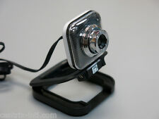 Black USB WebCam with Microphone 8 MP MegaPixel 30 FPS High Resolution