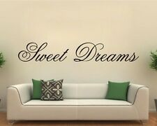 Sweet dreams bedroom wall Sticker Vinyl Decal Sticker wall decals Wall Sticker