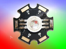 9W High Power Led RGB  +Starplatine ( 620nm-630nm / 520nm-530nm / 460nm-470nm )