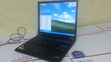 "IBM Thinkpad T43 Laptop 1.86 GHz 2 GB Ram Windows XP Pro Office 2007 14"" LCD DVD"