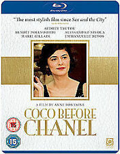 Coco Before Chanel Blu-Ray (UK Region B) Audrey Tautou, Marie Gillain