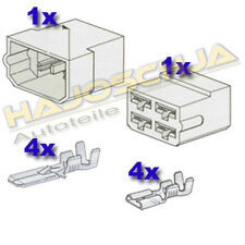 Set Connector housing 4-gang Cable splice Plug Car Tractor Motorcycle TRUCK Boat
