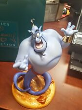 "Disney Aladdin WDCC Genie ""Magic at his Fingertips"" 989 of 1500 LE NEW Disney"