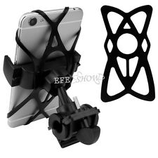 Adjustable Motorcycle Bike Bicycle Cell Phone Handlebar Mount Holder Black