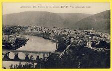 cpa 08 - REVIN (Ardennes) VALLÉE de la MEUSE Pont de CHEMIN de FER Usines