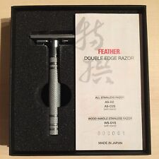 Feather All Stainless Razor - Safety Razor Made In Japan.