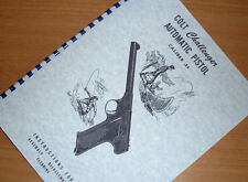 COLT Automatic CHALLENGER .22  Pistol Owners Manual