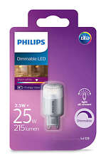 Philips LED 25W G9 Dimmable Capsule Light Bulb A+ 204lm 240v Warm White 2700K