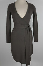 New 100% cashmere sz S / P Diane von Furstenberg DVF wrap dress