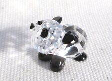 ADORABLE SWAROVSKI CRYSTAL BABY PANDA BEAR COLLECTIBLE FIGURINE