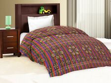 Designer Polyester Single Bed Sheet Only - Assorted Color & Designed