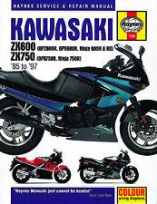 Kawasaki GPZ600 GPX600 ZX750 GPX750 1985-1997 Haynes Manual 1780 NEUF