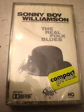 Sonny Boy Williamson CASSETTE NEW The Real Folk Blues