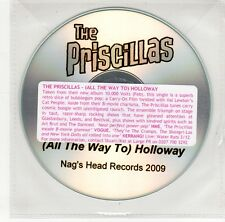 (GO103) The Priscillas, (All The Way To) Holloway - 2009 DJ CD