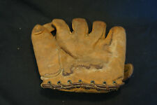 Old Vtg JC Higgens Right Handed Split Finger Baseball Glove Mitt Harry Walker