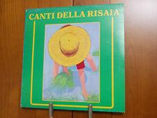 CANTI DELLA RISAIA   LP VINILE