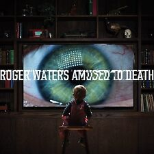 ROGER WATERS - AMUSED TO DEATH 2 VINYL LP 200g BLACK EDITION NEW+