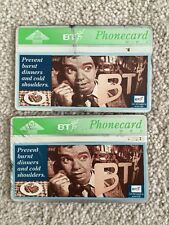 """BT Phone-cards, """"Prevent Burnt Dinners And Cold Shoulders"""", 20units, Used"""