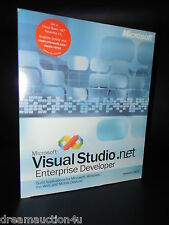 Microsoft Visual Studio .net 2003 Enterprise Basic C# C++ FULL VERSION BOX