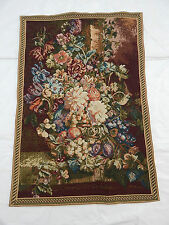 Vintage Beautiful Flowers Scene Tapestry 90x61cm T460