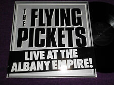 "THE FLYING PICKETS  ""Live at the Albany Empire ""  1982  UK LP  AVM LP 0001"