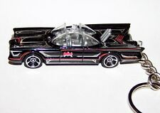 "CUSTOM MADE..BATMAN ""BATMOBILE"" T.V. SERIES (BLACK) KEYCHAIN..GREAT GIFT!"