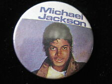 Michael Jackson-Purple-White-Pin-Badge-Button-80's Vintage-Rare