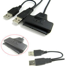 New HD HDD Hard Drive Adapter Converter Cable USB 2.0 to IDE SATA S-ATA 2.5 Hot