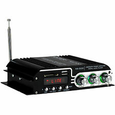 Kinter MA-500 4-Channel Mini Amplifier with Remote USB MP3