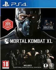 Mortal Kombat XL PS4 BRAND NEW SEALED UK OFFICIAL
