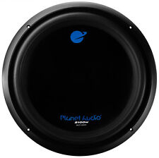 "NEW 15"" SubWoofer DVC Bass Speaker.2100w Dual Voice coil woofer.4 ohm.Car Audio."