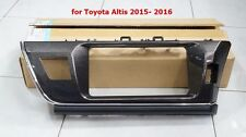 GENUINE TOYOTA COROLLA ALTIS 2015-16 1.8G 1.8 S PANEL SET FOR 2DIN AUDIO