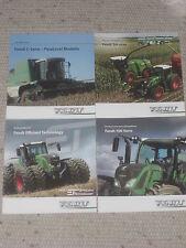 FENDT 700 VARIO Traktoren, FENDT C- SERIE- ParaLevel Mähdrescher Prospekte (F50)