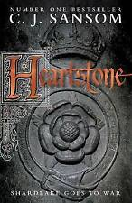 HEARTSTONE by C. J. Sansom New HISTORICAL FICTION Book Hardback 2010 Free Post
