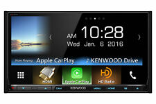 "Kenwood eXcelon DDX9903S 6.95"" DVD HDMI MHL Bluetooth Apple CarPlay Android Auto"
