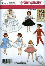 simplicity Crafts Sewing Pattern Doll Clothes - Fits American Girl Dolls