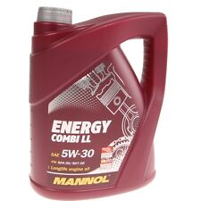 MANNOL 5W-30 Motoröl 5 Liter Energy Combi Longlife Synthetic Benzin Turbodiesel