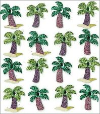 Jolee's PALM TREE REPEATS Stickers SUMMER OCEAN BEACH COCONUTS SAND