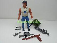 Rambo Forces of Freedom Coleco 1985 Action Figure FIREPOWER RAMBO Not Complete