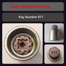 Genuine Audi Locking Wheel Bolt / Nut Key 817 17 Hex