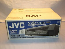 JVC XV-D721BK DVD Audio CD / Video player NOS