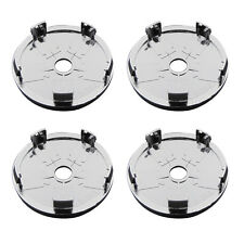 Common 4pcs Car SUV  Wheel Center Hub Cap Chrome ABS Plastic Tyre Trims