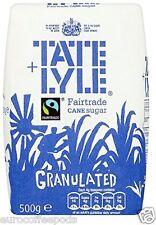 Tate Et Lyle Commerce Équitable Granulé Sucre 500g Paquet De 10