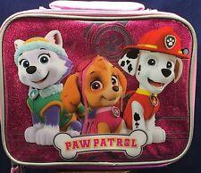 Paw Patrol Lunch Bag Insulated Skye Everest Marshall Box Nickelodeon Nick jr