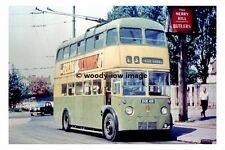 pt8591 - Wolverhampton Trolleybus - DUK 419 to Pear Tree - photograph