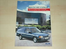 63903) Ford Escort Express Prospekt 07/1988